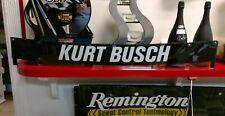 Kurt Busch Nascar Race Used Windshield Banner Non Sheet Metal