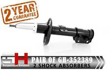 2 Frontales Amortiguadores Opel Corsa Fiat Punto Grande Evo / Gh -352389k