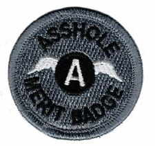 AssXXle Merit Badge 2.0 x 2.0 IRON ON Patch (MTA2)