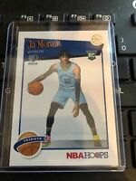 Ja Morant Rookie Card 2019-20 Panini NBA Hoops Tribute RC #297 Memphis Grizzlies