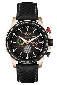 GV2 by Gevril Men's Scuderia 9914 Swiss Quartz Multi-function Chrono Date Watch
