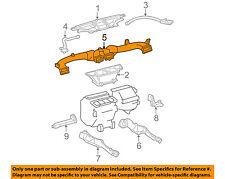 TOYOTA OEM 04-08 Solara Instrument Panel Dash-Upper Duct 5584306051