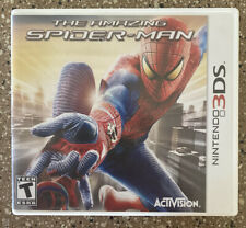 Nintendo 3DS The Amazing SpiderMan Video Game Spider Man—COMPLETE
