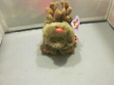 Puffkins Limited Edition Christmas MOOSLETOE MOOSE Plush STUFFED ANIMAL Toy NEW