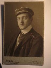 Wien - 1907 - Student mit Band Nordgau ? Norica ? / KAB Studentika