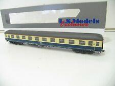 L.S.MODELS 46115 PERSONENWAGEN 1.KLASSE TÜRKIS/BEIG der DB  LED BELEUCH NH7941