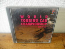 WTC World Touring Car Championship - Playstation - PS1 - NTSC-J (Jap)