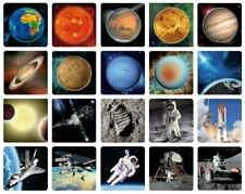 3D magnet aerospace & solar system – Choose of 20 motifs, planets & space flight