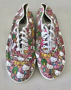VANS HELLO KITTY TB9C Pink Casual Canvas Shoes Sneakers Women's Size US 10.5