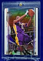 KOBE BRYANT UPPER DECK SP AUTHENTIC MAXIMUM FORCE REFRACTOR LOS ANGELES LAKERS