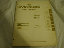 New listing 1968 evinrude 100882 100883 service manual