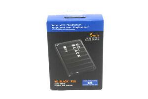 WD - WD_BLACK P10 5TB External USB 3.2 Gen 1 Portable Hard Drive - Black