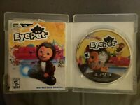 EyePet (Sony PlayStation 3, 2010) COMPLETE GAME W/CASE AND MANUAL!!!