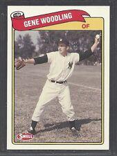 1989 Swell Baseball Greats - #102 - Gene Woodling - New York Yankees
