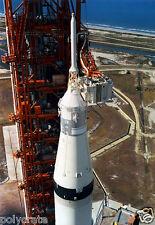 Photo Nasa - Apollo 11 Fusée Lunaire Saturne V avant le décollage