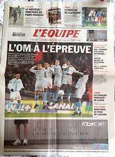L'Equipe Journal 9/4/2005; Paris-Roubaix/ Ajaccio/ De Lahssini OM/ Lyon/ Troye