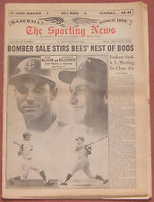 8-29-64 SPORTING NEWS TWINS HARMON KILLEBREW AND BOB ALLISON ON COVER BASEBALL