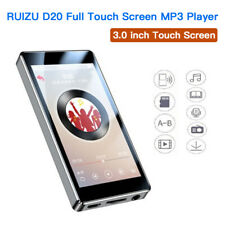 RUIZU D20 8GB Touch Screen MP3 Music Player FM Radio Video Player with Speaker