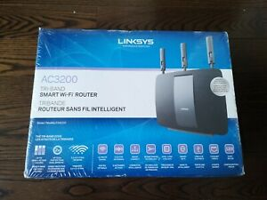 Brand New Linksys EA9200-CA AC3200 Tri-Band Smart Wi-Fi Router Sealed - Box Wear