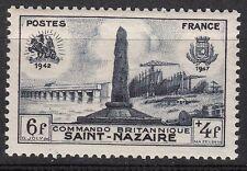 FRANCE TIMBRE NEUF N° 786 ** monument du debarquement britanique a saint nazaire