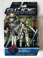 GIJOE • Storm Shadow Artic Threath The Rise of Cobra G.I.JOE NEW SEALED RARE