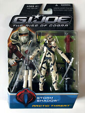 GIJOE • Storm Shadow Artic Threath The Rise of Cobra G.I.JOE NEW SEALED RARE