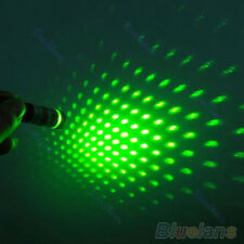 Brandnew 5mw  2 in 1 Beam Light Star Cap Projector Green Laser Pointer Pen Green