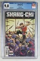 Shang-chi #1 1:50 - CGC 9.8 Arthur Adams Variant Marvel Comics 2020 kung Fu book