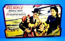 Vintage Reliance Needle Case Book