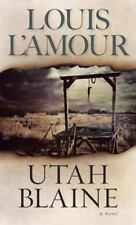 4 Westerns  by Louis L'Amour Utah Blaine,Chancy,Kiowa Trail,Silver Canyon