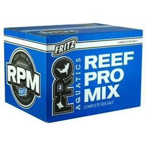 Fritz Pro Aquatics Reef Pro Marine Salt Mix 25kg 55lb Box Aquarium Fish Tank