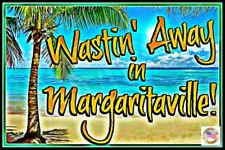 MARGARITAVILLE SIGN 8X12 VIVID ALL WEATHER TIKI BAR BEACH POOL HOT TUB LOUNGE