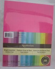 """Recollections Cardstock Paper 8 1/2"""" X 11"""" 200 Sheet Bright Essentials Pink Blue"""