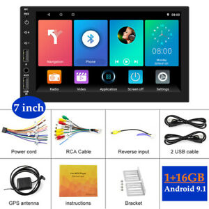 7''Android 9.1 High-definition Large Screen 1+16GB WIFI Networking Car Player