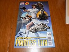 Star Wars Princess Leia #1 (2015) Dynamic Forces variant SIGNED LIMITED TO 650!!