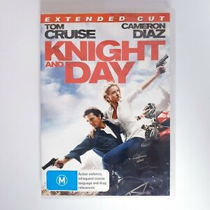 Knight and Day DVD Region 4 PAL Free Postage - Action Extended Cut