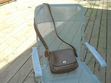 COACH made in USA Brown Leather Shoulder Bag /Crossbody
