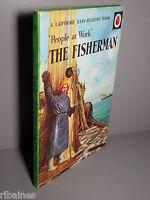 R&L Ladybird Book: People at Work, The Fisherman, Series 606B, Matt Circa 1966