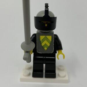 Lego Yellow Classic Castle Knight Black Cavalry Vest cas085s 375 6075 1978/81