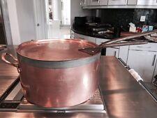 SENSATIONAL Huge Antique Copper Pot 1800's made by Benham & Froud