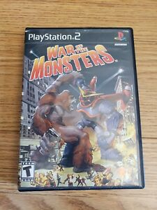War of the Monsters Ps2 Playstation 2