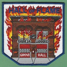 BOSTON FIRE DEPARTMENT ENGINE 24 LADDER 23 COMPANY PATCH HALL OF FLAME