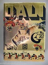 Les Diners De Gala ~ Salvador Dali cookbook ~ 1973 ~ 1st Edition ~~ nice cond.