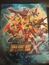 Super Robot Wars X With Steelbook Case (PlayStation 4, PS4, English Subtitles)