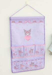 kuromi purple Hanging Organizers Wall Storage Bag Pocket handbag bags fashion