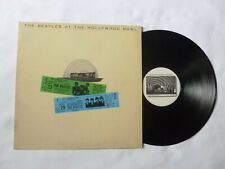 THE BEATLES ~ AT THE HOLLYWOOD BOWL ~ '77 UK LIVE BEAT/POP VINYL LP ~ PLAYS WELL