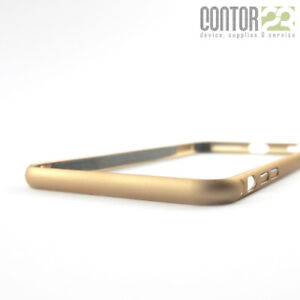 Aluminium Bumper Apple iPhone 6/6S Plus GOLD + 9H Panzerfolie [Schutzhülle]