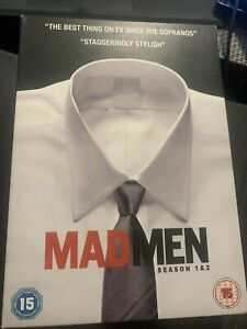 MAD MEN - SEASON 1 And 2 -UK REGION 2 - SIX DISC DVD SET