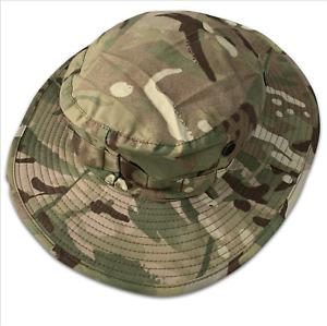 MTP CAMO TROPICAL COMBAT BOONIE BUSH SUN HAT - Multiple sizes , British Army NEW