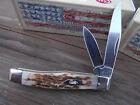 CASE XX MODEL CA-077 SUPER SHARP BLADES  LOOKS GREAT 4 A TEXAS JACK POCKET KNIFE